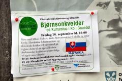 extravecer bjornson a slovensko. plagat